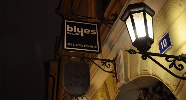 Куда пойти в Праге - живая музыка Blues Sklep