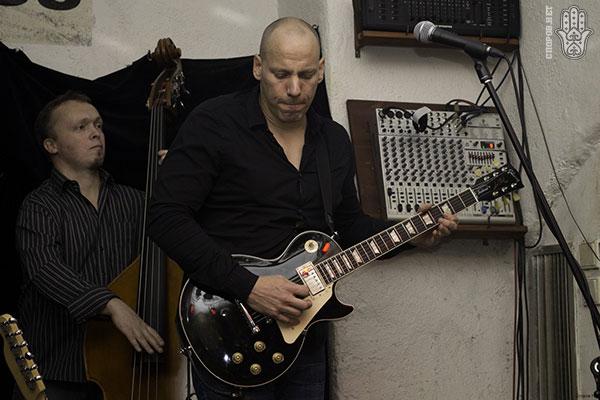 Eric Stanglin в Blues Sklep в Праге