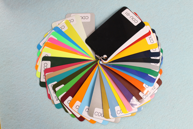 Каталог цветов PU Vinyl