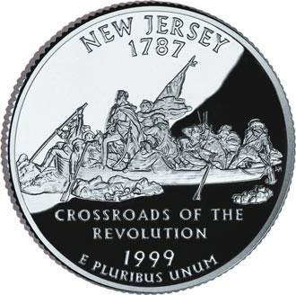 "Нью-Джерси часто называют ""The Crossroads of the Revolution"""