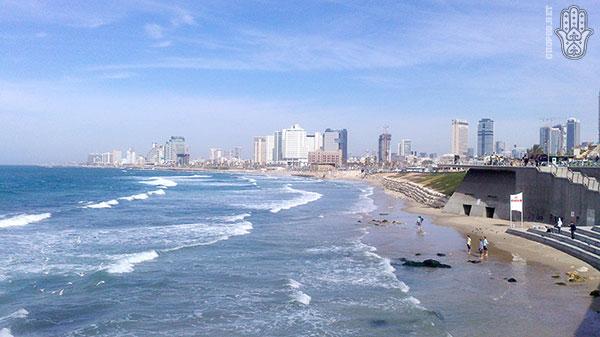 Прогрулка в Тель-Авив и Старый Яффо - Вид на Тель-Авив