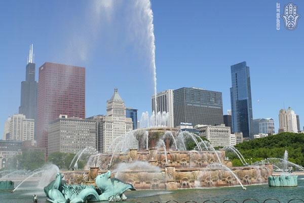 Фонтаны Чикаго