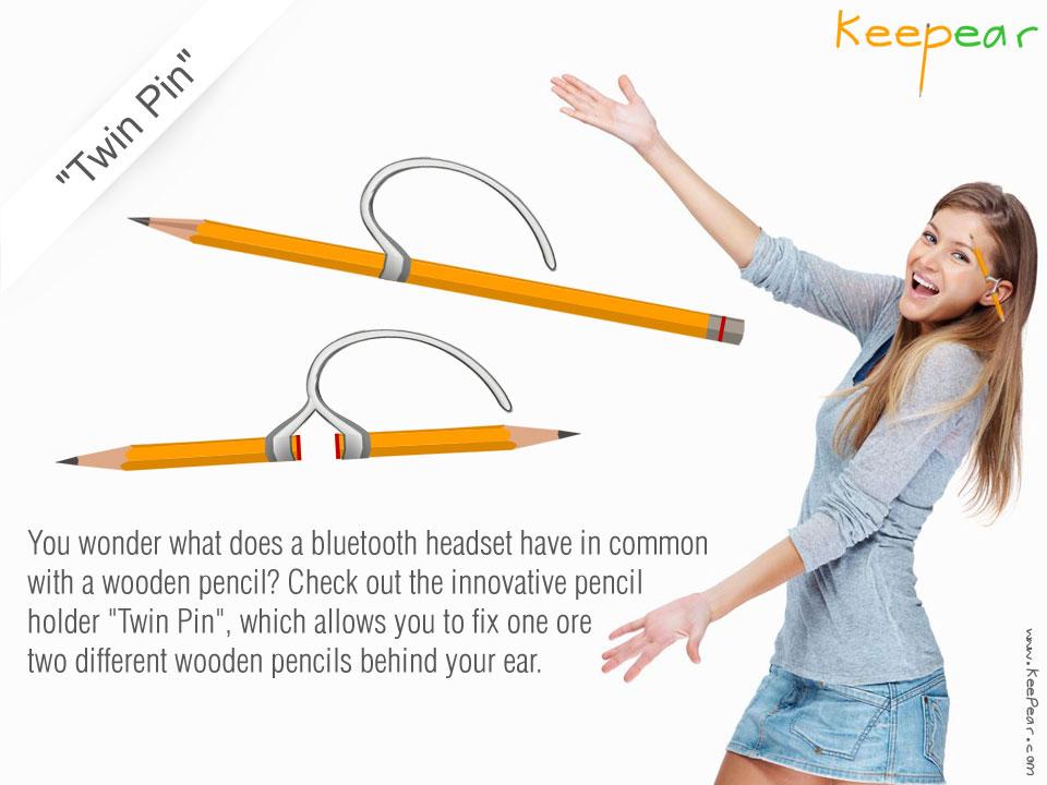 Креативный дизайн карандашей - Keepear Twin Pin