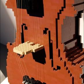 Скульптуры из LEGO в Тель-Авиве