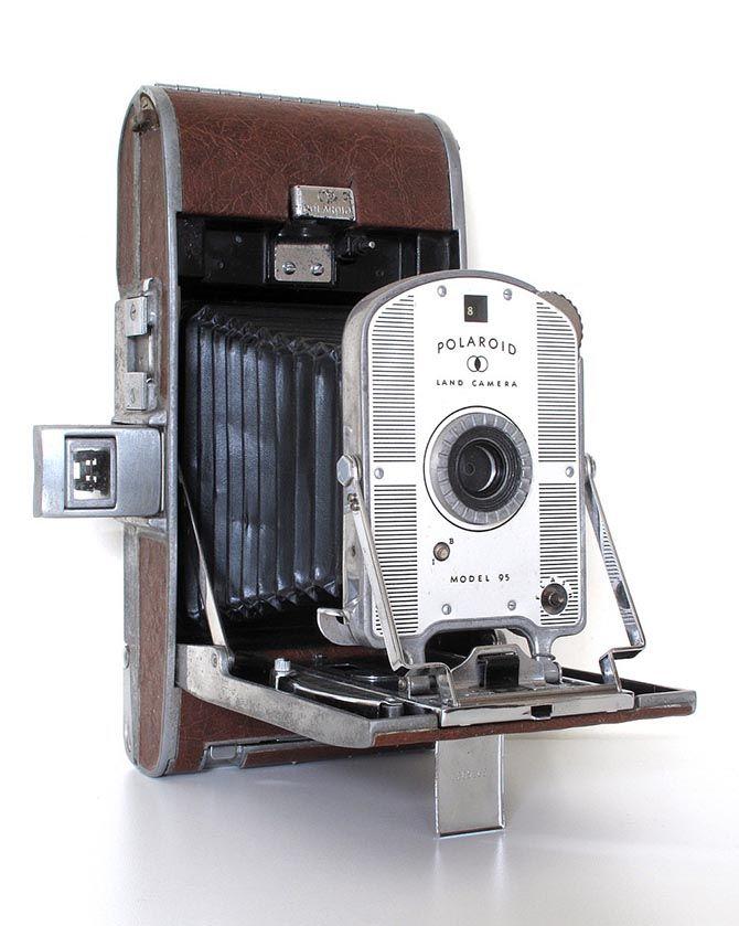Вот он, первый Polaroid — модель Land Camera Model 95: