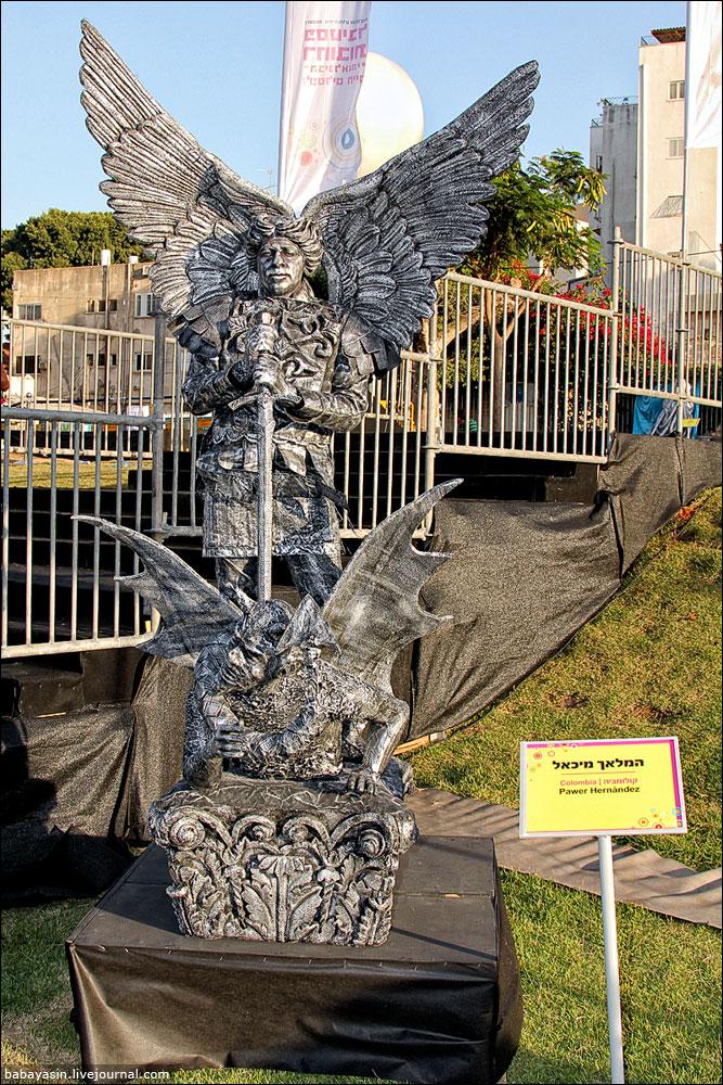Живые скульптуры 2013